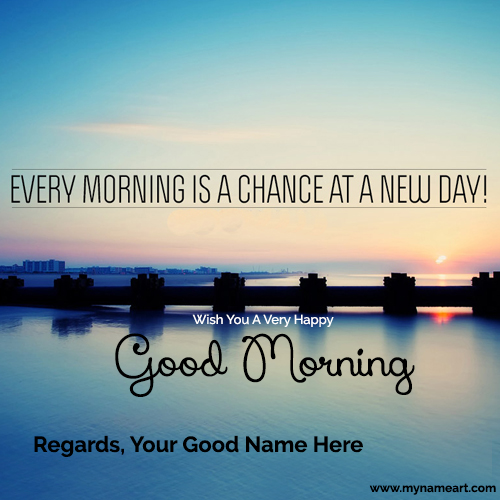 I Love You Good Morning Name Pictures