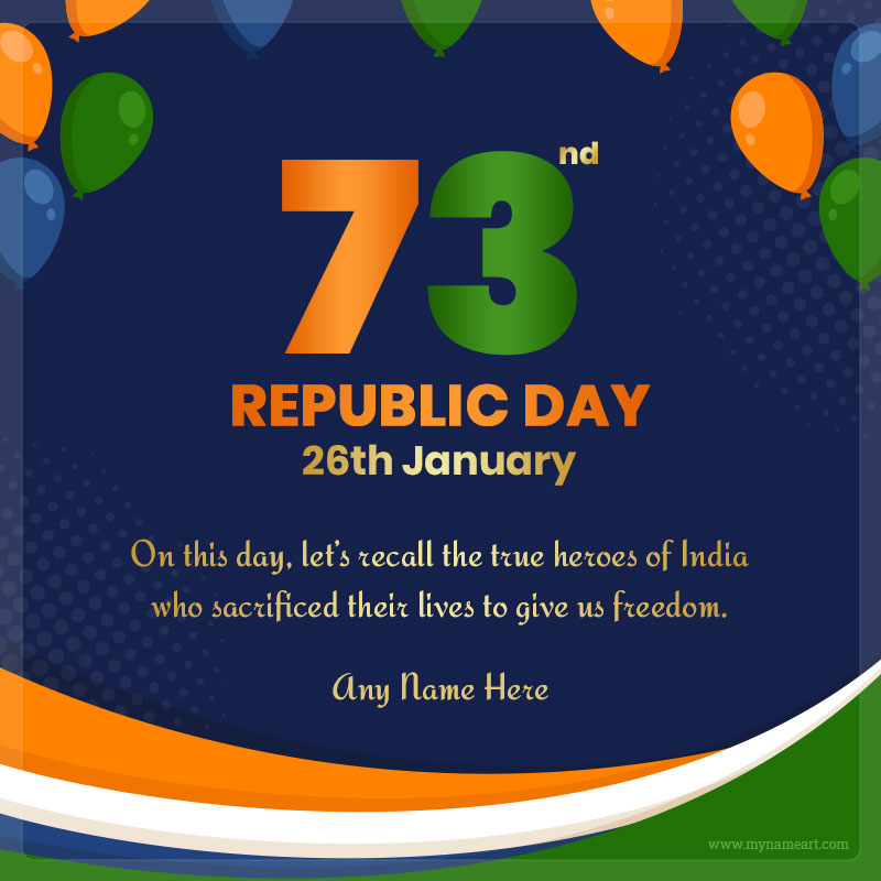 72nd Republic Day
