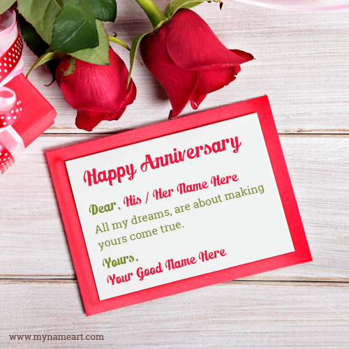 Anniversary Wishes For Wife Or Husband  Anniversary Card Free