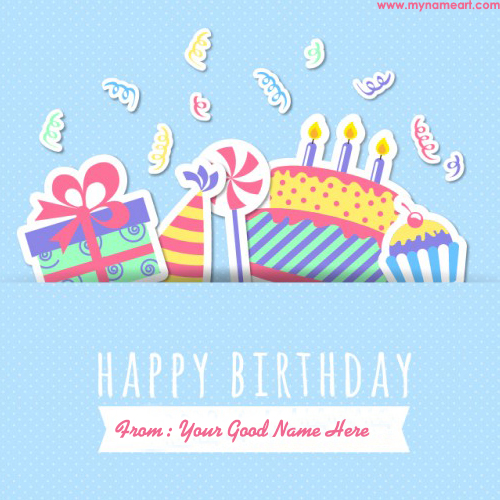 Birthday card for cute kids with name create wishes greeting card birthday card for kids bookmarktalkfo