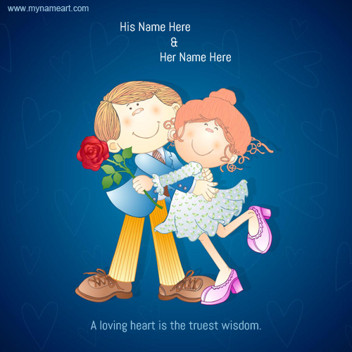 Cartoon Romantic Couple Pictures