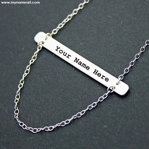 Name Written On Necklace Image Online