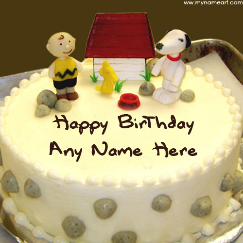 Want To Write My Kids Name On Birthday Cake Pics wishes greeting card