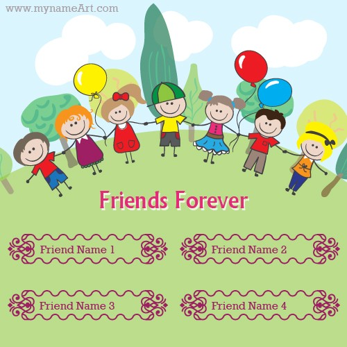 Friendship Forever Greeting Card