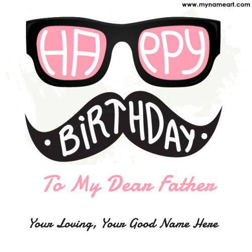 Happy Birthday To You Papa Ecard With Name