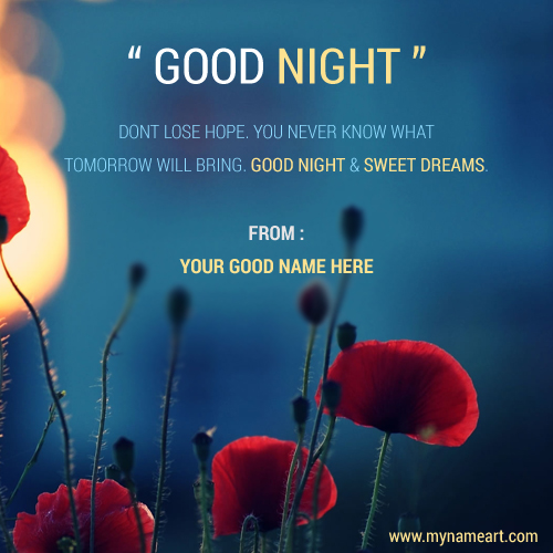 Good Night Sweet Dream Wishes For Whatsapp