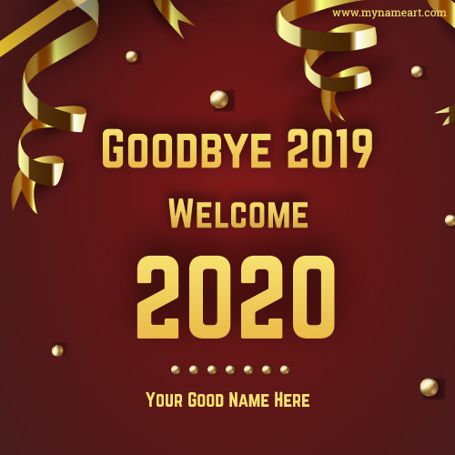Goodbye 2019 Welcome 2020 Whatsapp Status Image
