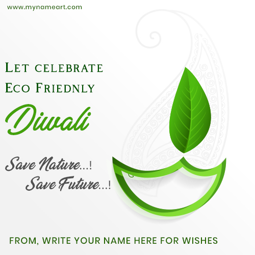 Eco Friendly Diwali Wishes Message
