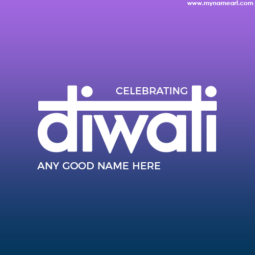 Greetings Card For Diwali