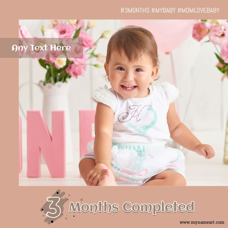 My Little Princess Completed Three Months