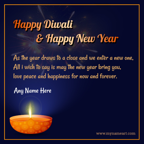 Latest Happy Diwali And New Year Wishes
