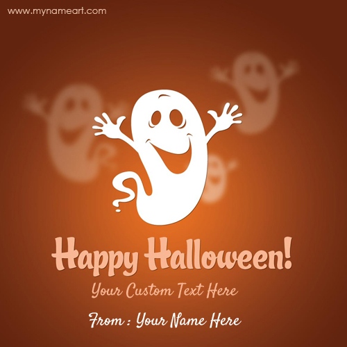 Halloween Costumes Wishes Greetings Card Image