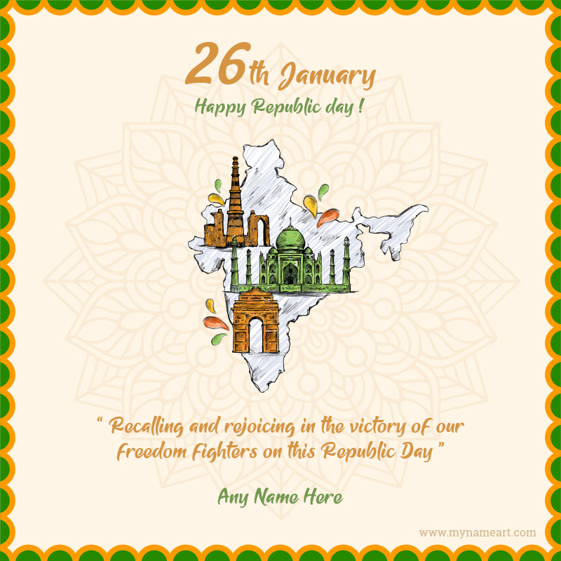 Happy Republic Day Messages For Status With Name