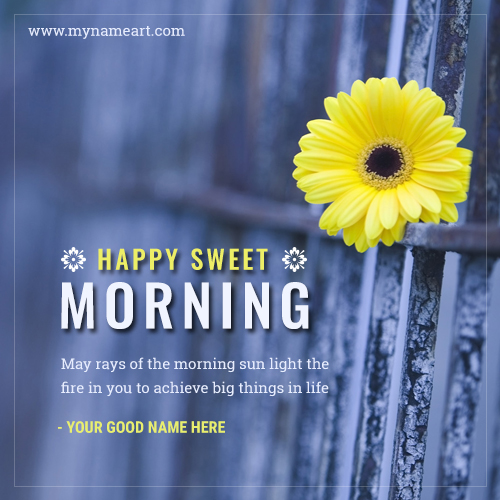 Happy Sweet Good Morning Sms