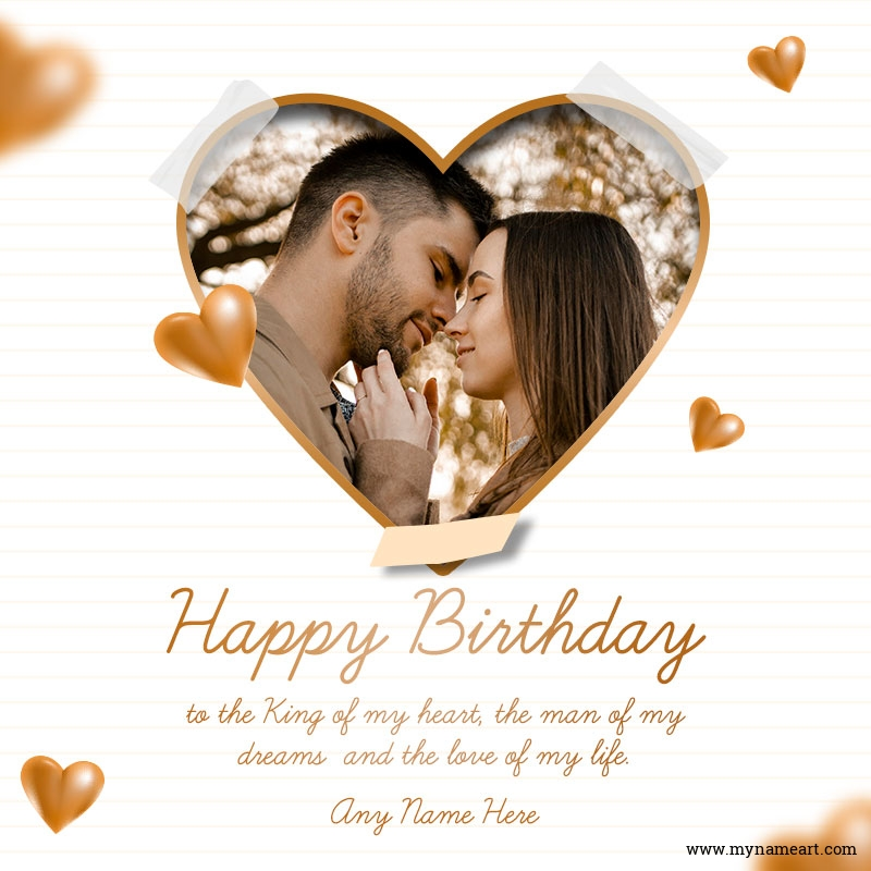Birthday Wishes For Husband With Photo And Name