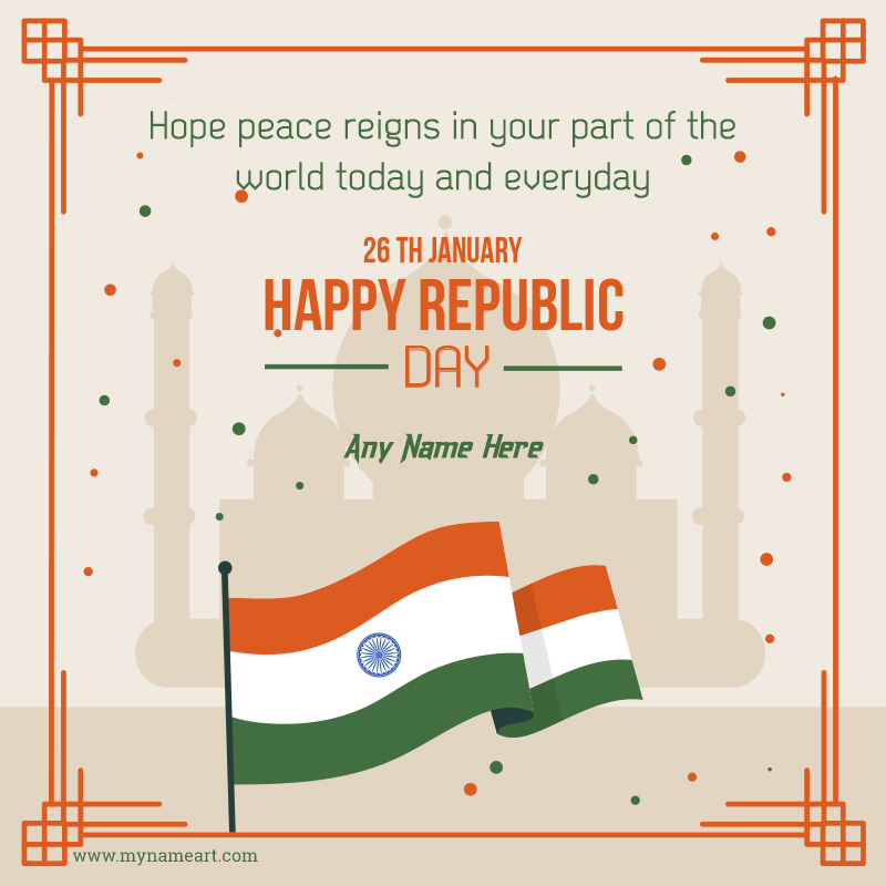 India Republic Day Wishes With Name 2020