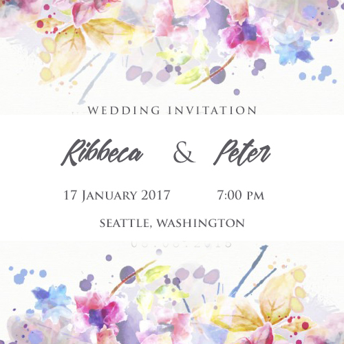Marriage Invitations Cards Online Free Create Wishes Greeting Card - Card template free: online wedding invitation cards templates