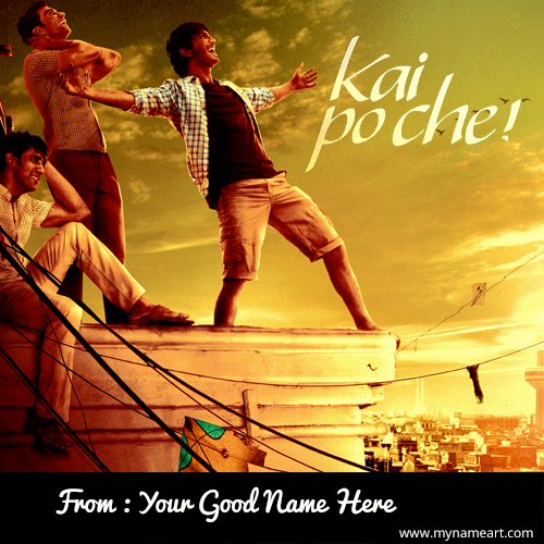Kai Po Che Name Pictrues