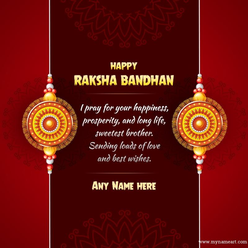 Unique Rakhi Greeting Card