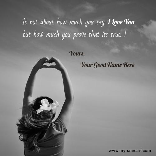 Love Prove Quotes