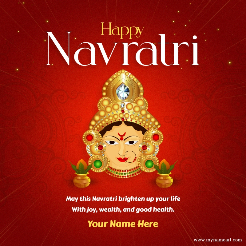 Navratri Greetings For Loved Ones