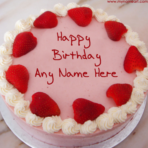 Write Friend Name On Birthday Cake Pics For Wishes wishes