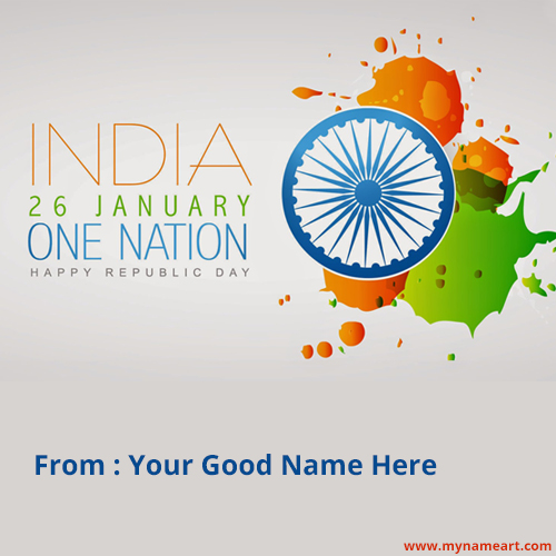 Republic Day Wishes Name Pictures Free Download