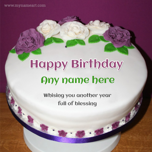 Superb The Best Happy Birthday Cake With Name Birthday Cards Printable Opercafe Filternl