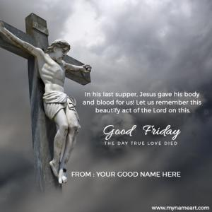 Good Friday Greetings Quotes Hd Image