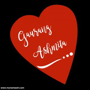 Couple Name Generator Signature Style In Heart