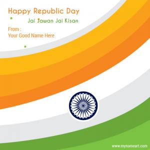 Happy Republic Day Picture Maker