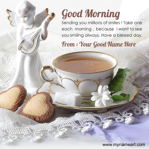Whatsapp Good Morning Greetings Card