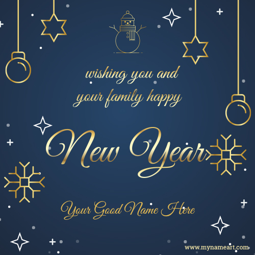 Wishing You And Your Family Happy New Year