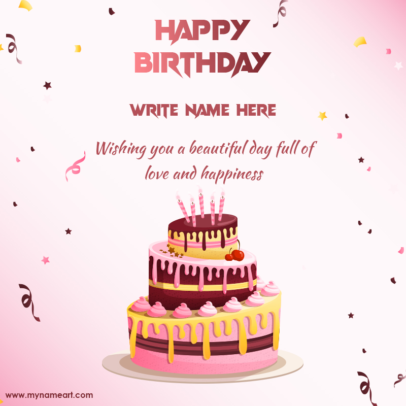 Terrific Happy Birthday Wishes Images With Name Birthday Card Maker Online Funny Birthday Cards Online Alyptdamsfinfo
