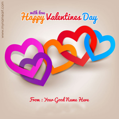 With Love Happy Valentines Day Wishes