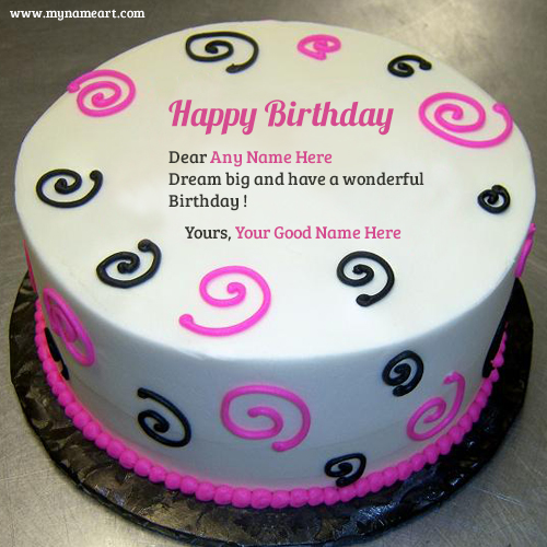 Images Of Birthday Cake With Name Ritu : Chocolate Birthday Cake Image Edit With Boss Name wishes ...