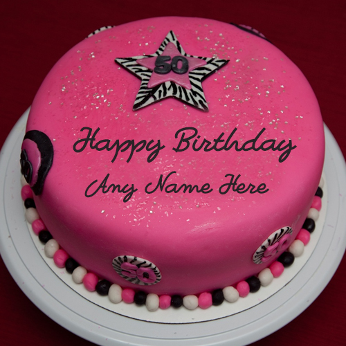 write any name on th birthday celebration cake image  wishes, Birthday card