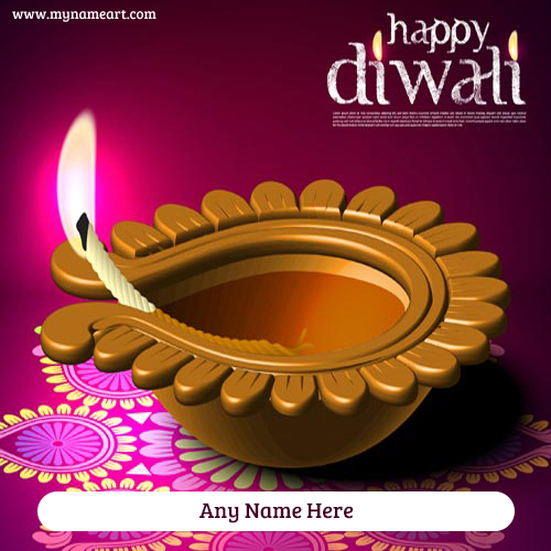 Write name on diwali greeting card wishes greeting card create card m4hsunfo