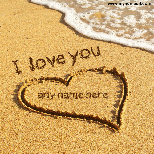 Love Wallpaper Write Name : I Love U Images With Writing Name - impremedia.net