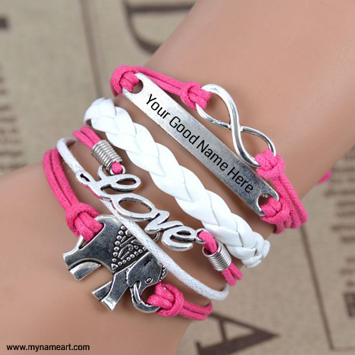 Write Your Name On Bracelet