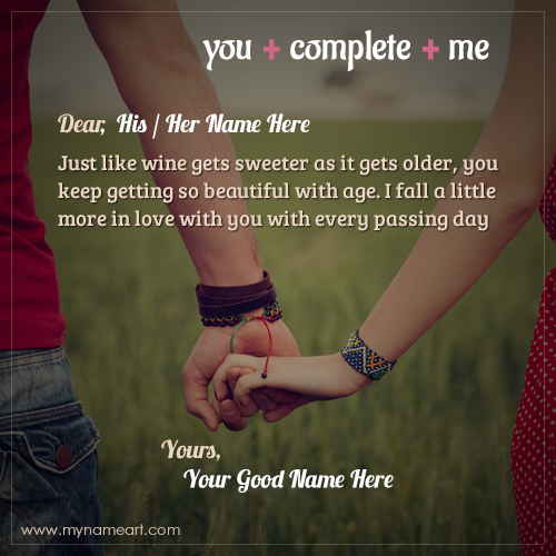 You Complete Me Quotes For His Or Her